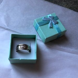 Stirling Silver Spinner Ring